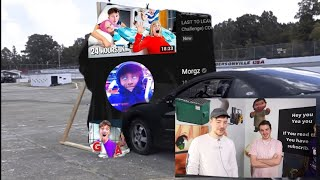 Mrbeast runs over Morgz's channel