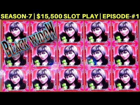 Black Widow Slot Machine FULL SCREEN Big Win | MEGA VAULT SLOT Max Bet Bonus | SEASON-7 | EPISODE #2