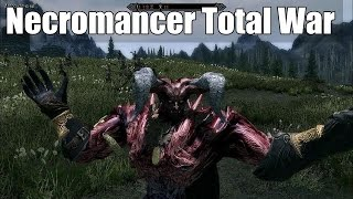Skyrim Mods Mix - Necromancer Total War of Might and Magic + Monster Mod
