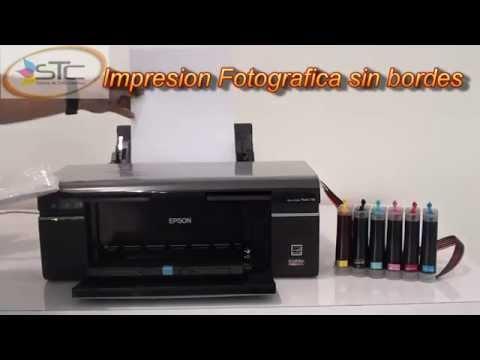 Impresora Epson Stylus Foto T50 con sistema de tinta continua STC