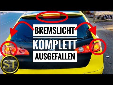 Bremslicht ausgefallen | Fehlerdiagnose Bremslichtschalter | Seat Ibiza 6L | VW Polo 9N