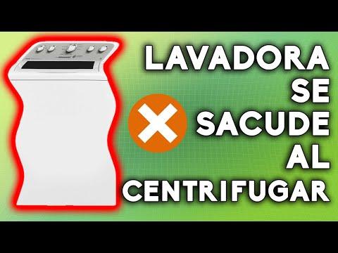 Lavadora Electrolux ✅ se SACUDE y GOLPEA al CENTRIFUGAR ☹️