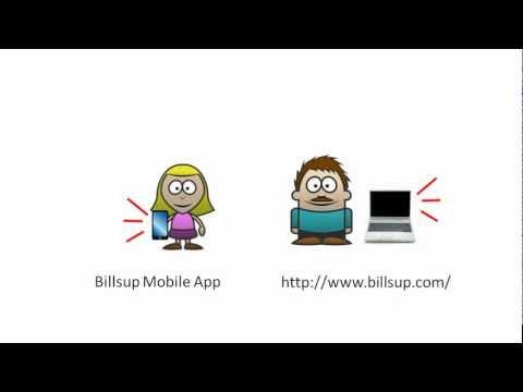 Video of Billsup - split group expenses