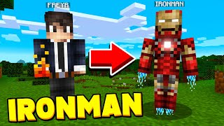 IRONMAN PRANK IN MINECRAFT! *DELETED HIS GAME* - Funny Trolling Video