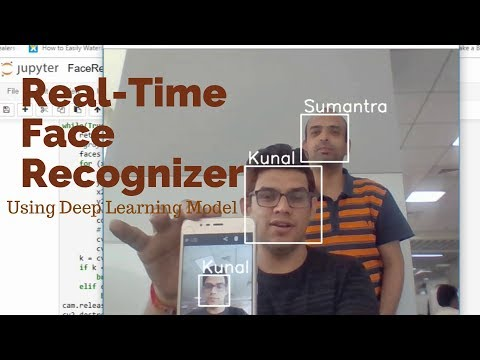 Real-time face recognition on custom images using Tensorflow Deep