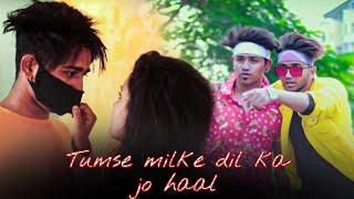 Tumse Milke Dil ka Jo Haal | Main Hoon Na | tik tok Famous song | Ajay & Karishma | KINGS |