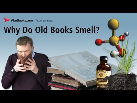 Why Old Books Get That Old Book Smell