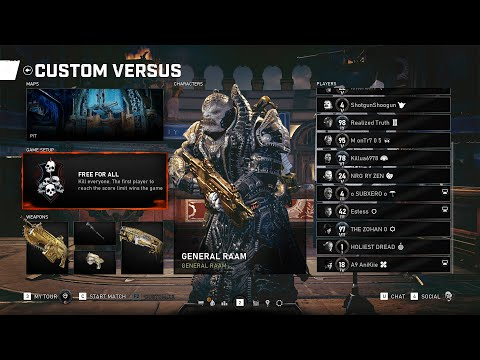Gears 5  - Free For All PIT - New Movement Discussion