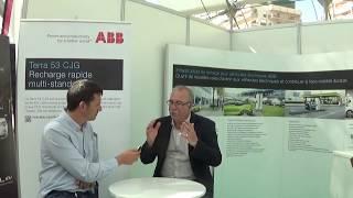 ABB et la charge ultra-rapide pour véhicules électriques