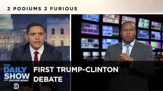 Sparks Fly at the First Trump-Clinton Presidential Debate: The Daily Show