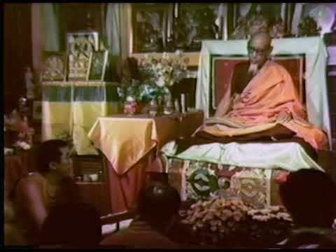 Tibetan public talk༄སྐྱབས་རྗེ་ཟོང་རྡོ་རྗེ་འཆང་གི་འཇིགས་བྱེད་དཀའ་ཁྲིད་༼༡༽