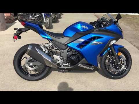 2017 Kawasaki Ninja 300 in Greenville, North Carolina - Video 1