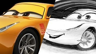 Get in the passenger seat for a Cars 3 drawing tutorial from