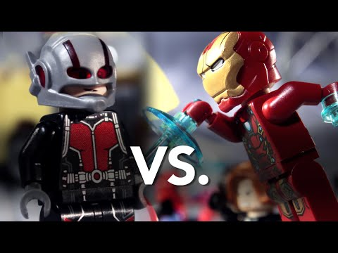超精彩必看!LEGO 英雄內戰逐格動畫!