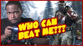 For Honor Berserker Gameplay - HAHA! THE FUNNIEST MOVE IN THE GAME!  (For Honor Stream Highlights)