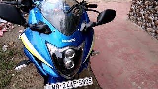 Suzuki Gixxer Best Modified| Duel Projector Headlamp | K&n Airfilter