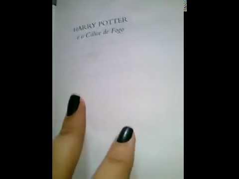 Review Livro Harry Potter e o cálice de fogo -edi. Rocco