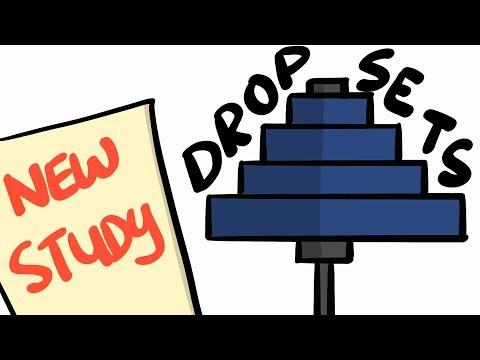 Normal Sets VS Drop Set - (NEW STUDY)