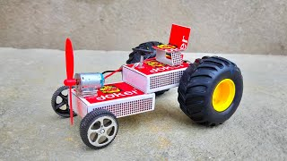 How To Make A Electric Tractor Toy Diy