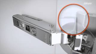 Blum  Top Inserta Hinge - Installation & Adjustment