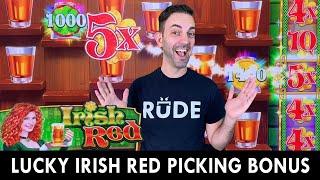LUCKY IRISH RED 🥃 DRINKING BONUS 🥃 Drinks are on me!