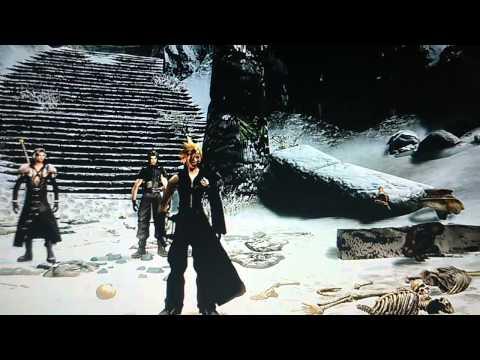 Skyrim AC Cloud Strife vs AC Sephiroth Final Fantasy 7 MOD