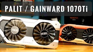 Palit GTX 1070Ti Super Jetstream / Gainward Phoenix GS