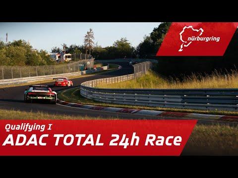 ニュルブルクリンク24時間レース 2020 予選1の様子を配信するYouTubeライブ配信