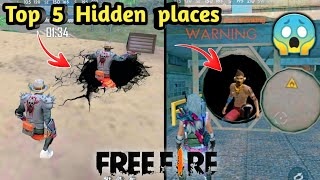 Freefire Top 5 hidden places in தமிழ் || Dont know this Places || Tamil battle gamers