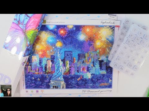 5D DIY Diamond Painting | What Is It | Completed Works | Tips | PaulAndShannonsLife