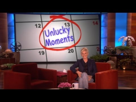 Ellen Staff's Unlucky Moments (видео)