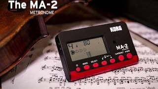 Korg MA-2BKRD - Video