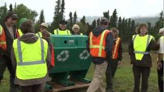 Dalton Highway Cleanup at Coldfoot, Alaska