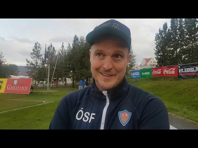 Óli Stefán: Komnir með þetta í báðar greipar