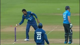 Mankading in Cricket Compilation