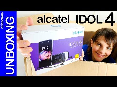 Alcatel Idol 4 VR unboxing en español | 4K UHD