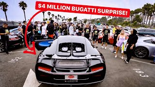 HE BROUGHT A $4 MILLION BUGATTI TO MY RALLY! *MEMBERS ONLY RALLY*