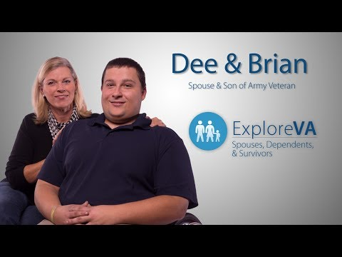 Video: VA benefits help Brian live with a birth defect linked to his father's service.