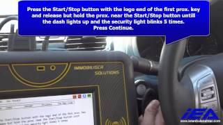 Nissan Altima 2014 OBD APPLICATION Proximity key programming