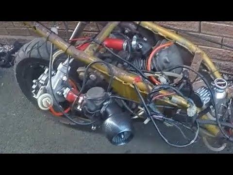 HONDA PCX 125cc Scooter Turbocharged Supercharged - смотреть