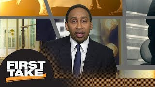 Stephen A. Smith: No way in hell LeBron James stays with Cavaliers next season | First Take | ESPN - Video Youtube