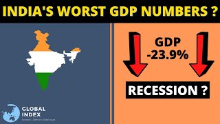 India's Worst GDP Crash | Recession ?