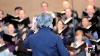 Muti rehearses Carmina Burana - Millennium Park, 2012