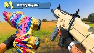 Airsoft War: Fortnite Battle Royale First Person Shooter In Real Life!