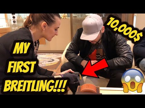 BUYING A NEW 10,000$ BREITLING WATCH!! *NOT CLICKBAIT*