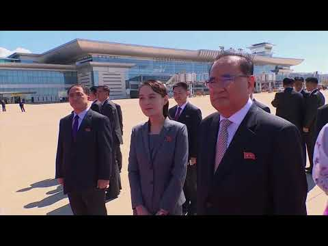 Senior Chinese official Li Zhanshu arrived in Pyongyang on Saturday to take part in celebrations marking the 70th anniversary of the founding of North Korea.(Sept. 8)