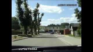 preview picture of video 'LUZINO 2009_2010 Z PERSPEKTYWY KIEROWCY Z NAZWAMI ULIC CZ1 | by ANDRZEJ SZULC'