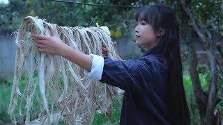 Papel artesanal com fibras vegetais