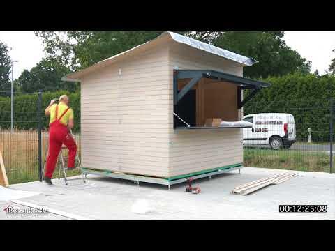 Bertsch Holzbau   Montagefilm Modell 1 2 3 Verkaufsstand