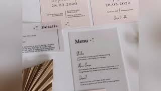 Matilda Invitation Suite By Renee Wraith Design